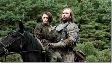Rains of Castamere - Arya & The Hound