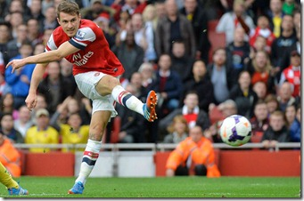 2014 Arsenal - Ramsey